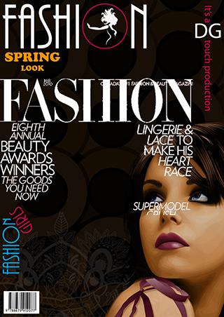 magazine, cvr, fashion